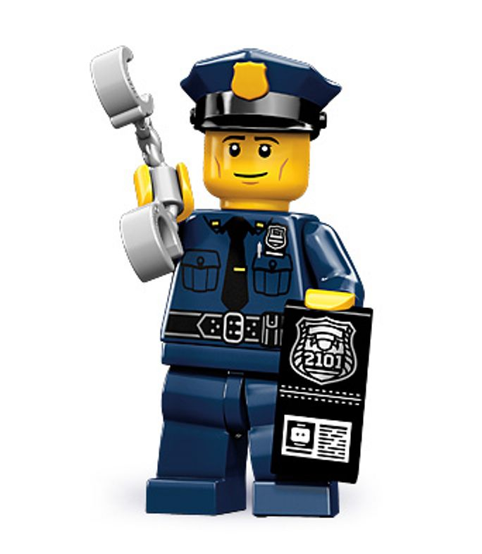 Lego collectable series 9 minifig City Policeman with ...